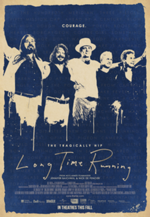 Long Time Running - Theatrical release poster