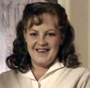 Mo Harris - Mo as she appeared in EastEnders: Pat and Mo, played by Lorraine Stanley.