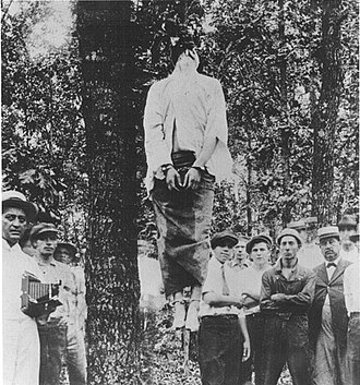 History of Georgia (U.S. state) - The lynching of Leo Frank.