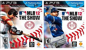 MLB 12: The Show - Image: MLB 12 The Show cover