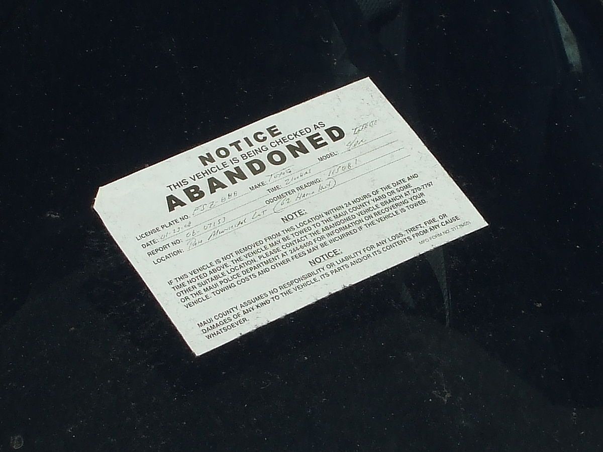 Ohio Law Personal Property Abandoned