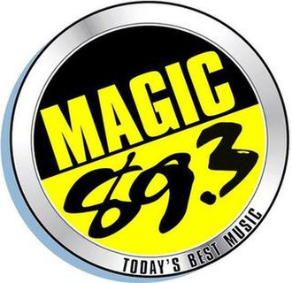 DXKB - Image: Magic 89.3 cagayan de oro logo