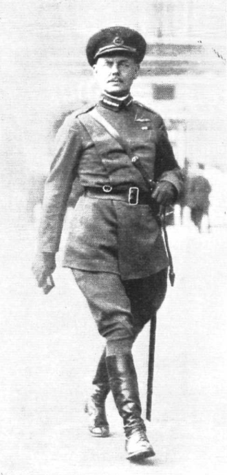 Edward Ashmore (British Army officer) - Ashmore as commander of the London Air Defences.