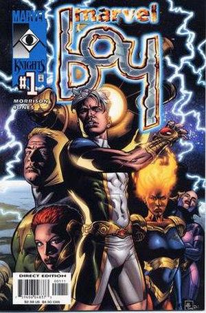 Noh-Varr - Image: Marvel Boy 1 2000