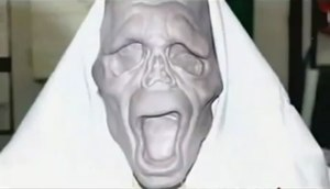 An original mold for the Ghostface mask based ...