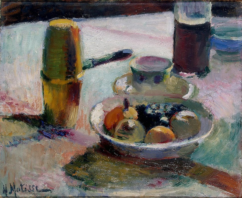 Matisse - Fruit and Coffeepot (1898)