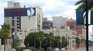 Maxwell House - The Maxwell House factory in Jacksonville, Florida