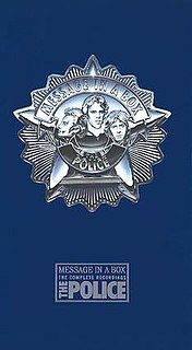 <i>Message in a Box: The Complete Recordings</i> 1993 box set by The Police