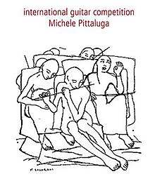Michele Pittaluga International Classical Guitar Competition logo