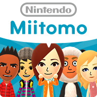 Miitomo Android app icon used for version 1, depicting the titular Mii characters
