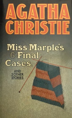 Miss Marple's Final Cases and Two Other Stories - Dust-jacket illustration of the first UK edition