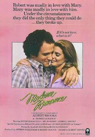 Modern Romance (film) - Theatrical release poster