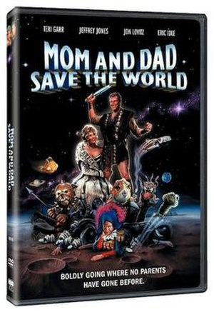 Mom and Dad Save the World - DVD cover for the movie