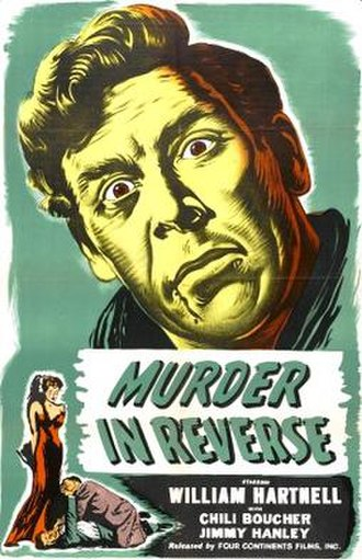 Murder in Reverse - Theatrical release poster