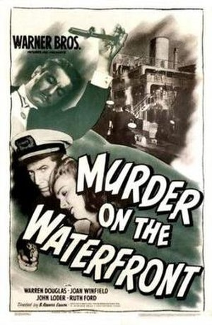 Murder on the Waterfront - Theatrical release poster