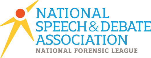 National Speach %26 Debate Association logo