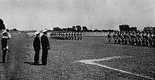 Navy drills 1945