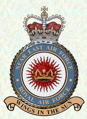 Near East Air Force (Royal Air Force) - Crest of Near East Air Force
