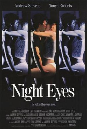 Night Eyes - Theatrical release poster