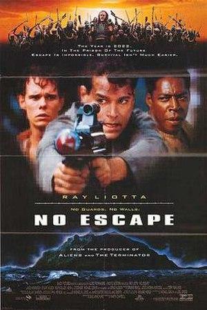 No Escape (1994 film) - Theatrical release poster