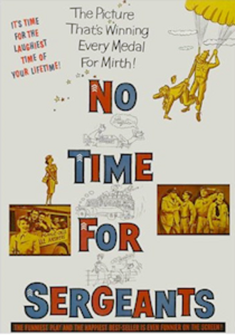 No Time for Sergeants (1958 film) - 1958 film poster
