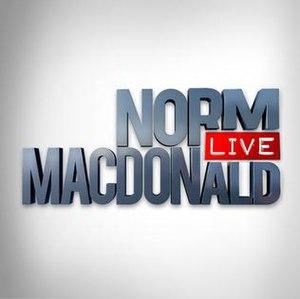 Norm Macdonald Live - Norm Macdonald Live logo