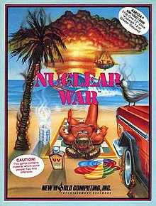 nuclear war video game wikipedia