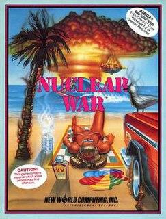 <i>Nuclear War</i> (video game) 1989 video game