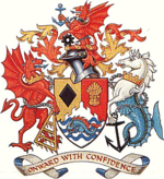 Arms of Bridgend County Borough Council