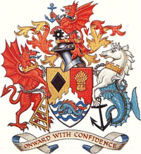 Arms of Ogwr Borough Council