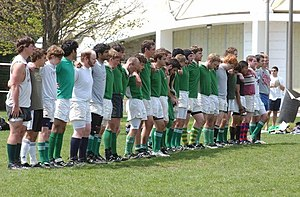 Notre Dame Rugby Football Club - The Out Side Irish during the 2007 Spring season.