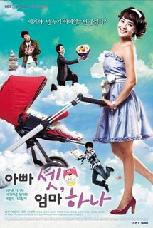 <i>One Mom and Three Dads</i> 2008 South Korean television series