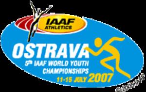 2007 World Youth Championships in Athletics - Image: Ostrava 2007logo