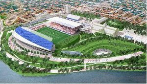 Lansdowne Park redevelopment - Depiction of LPC proposal