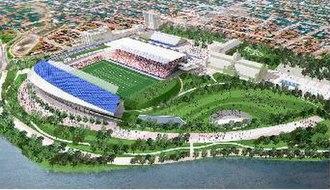 Lansdowne Park redevelopment - Depiction of LPC proposal
