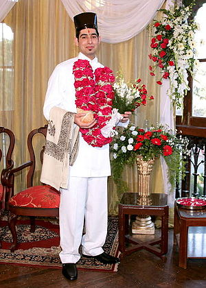 Zoroastrian wedding - Parsi groom