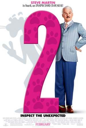 The Pink Panther 2 - Theatrical release poster