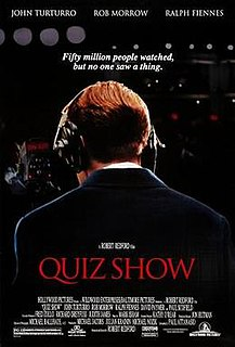 <i>Quiz Show</i> (film) 1994 film by Robert Redford