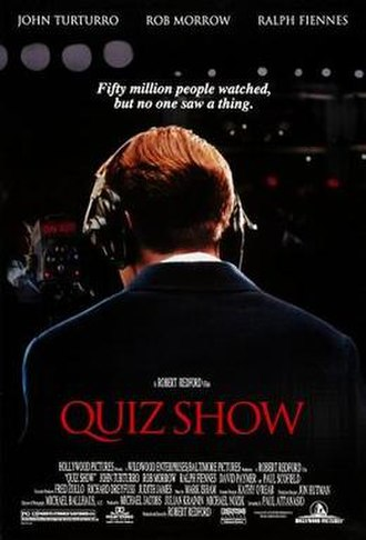 Quiz Show (film) - Theatrical release poster