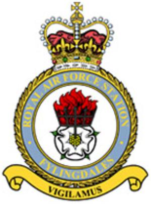 RAF Fylingdales - Image: RAF Fylingdales crest