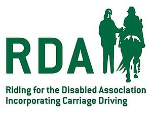 Riding for the Disabled Association - Image: RDA logo green