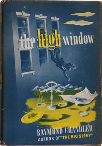 The High Window - Cover of the first edition