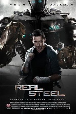 Real Steel - Theatrical release poster