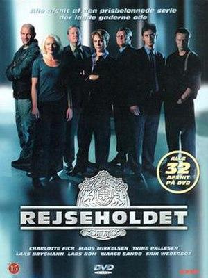 Rejseholdet - Danish cover for the 32-episode DVD set