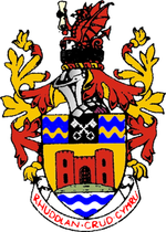 Arms of Rhuddlan Borough Council