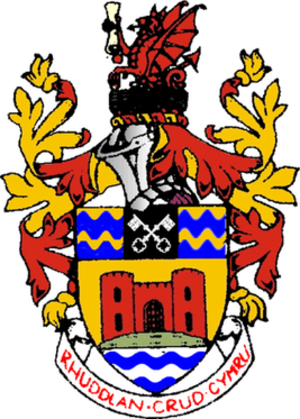 District of Rhuddlan - Arms of Rhuddlan Borough Council
