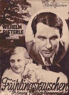 <i>Rustle of Spring</i> (film) 1929 film by William Dieterle