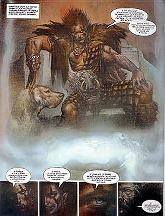 Sláine (comics) - Sláine in Simon Bisley's version.