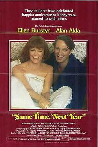 Same Time, Next Year (film) - Theatrical release poster