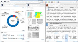 Logos Bible Software - Image: Screenshot of Logos 6